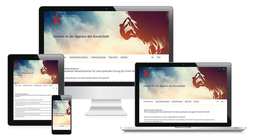 Webdesign Berlin-Brandenburg Referenz Coaching