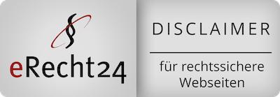WebStyling4you Disclaimer e-recht24
