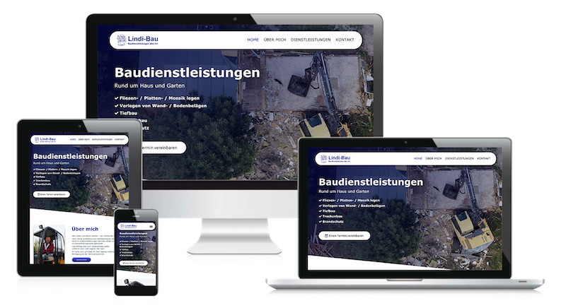 Webdesign Berlin-Brandenburg Referenz Lindi-Bau